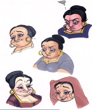 This concept art is of what Disney Princess movie?