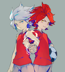 During the FFI arc of Inazuma Eleven, what country did Haruya Nagumo and Suzuno Fuusuke play for?