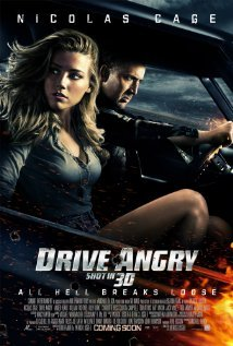 What's the German titel of: Drive Angry 3D?