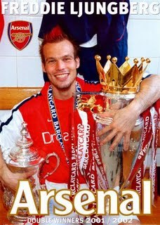Does former Arsenal player Freddie Ljunberg have a twitter account?