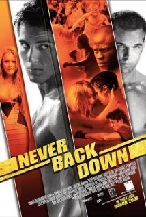 What's the German 标题 of: Never Back Down?