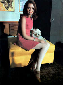 Whats the name of the white poodle Diana had back in the 60s?