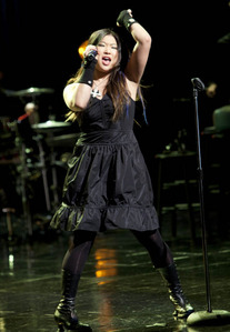 What is Tina singing here?