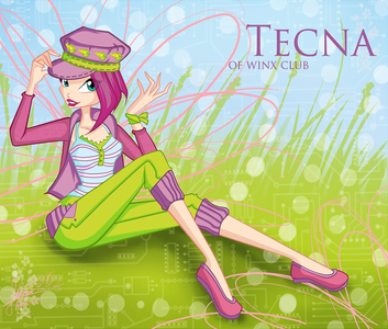 what is the name of tecna's pet?