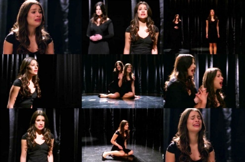 "Rachel & Broadway: She's singing ""I dreamed a dream"", from the musical..."