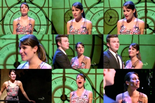 "Rachel & Broadway: She's singing ""For Good"", from the musical..."