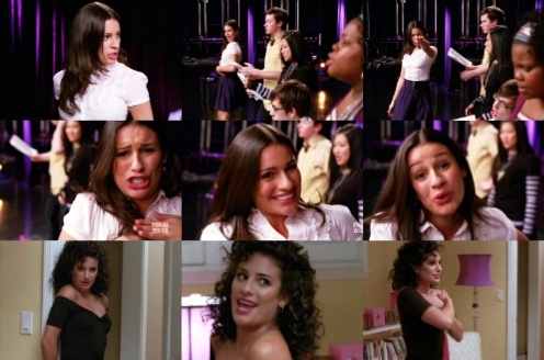 "Rachel & Broadway: She's Canto ""You're the one that I want"", from the musical..."