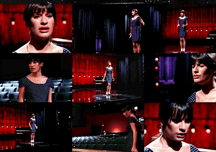 "Rachel & Broadway: She's hát ""What I did for love"", from the musical..."