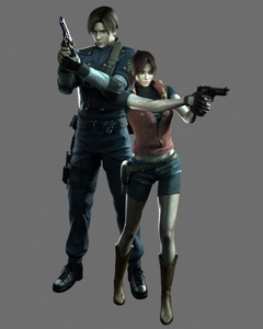 is leon (interisted) in claire