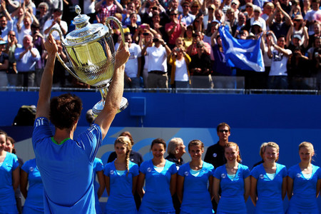 Who did Murray beat in the AEGON Championship Final 2011?
