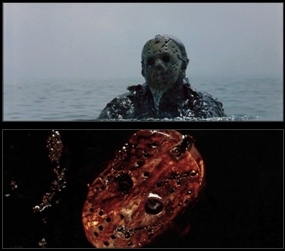Freddy vs Jason: Who played Jason in the very last scene when he is carrying Freddy's head?