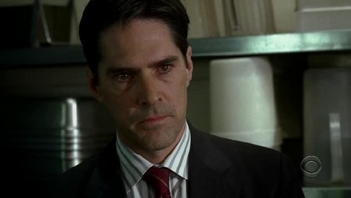 Who is Hotch looking at?