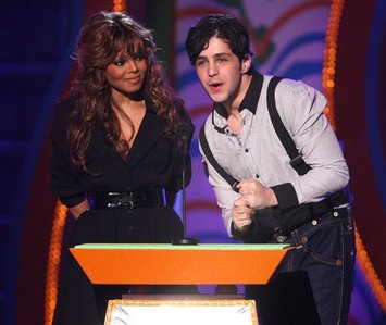 What award mostra is Janet at in this picture