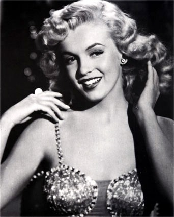 True or False: The Blue Fairy was modelled after Marilyn Monroe