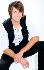 In Big Time Fever what does James spray ove him??