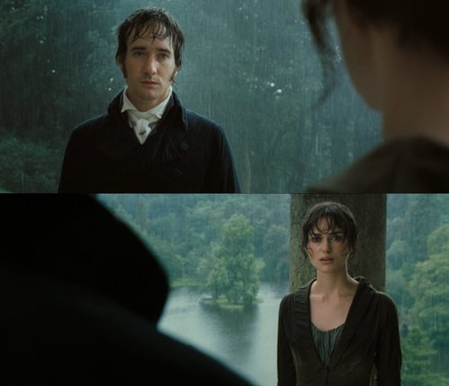 where did elizabeth and darcy meet