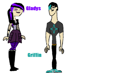who does gladys have a crush on and griffon is friends with but gladys won't admit it?