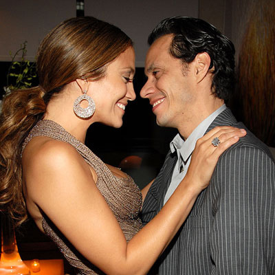 What year did Jennifer Lopez and Marc Anthony get married?