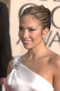 For what movie was Jennifer Lopez nominated for a Golden Globe Award?