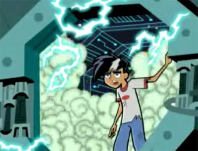 Who is the reason Danny gave up his powers???