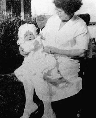 that baby is marilyn. Who is that woman?