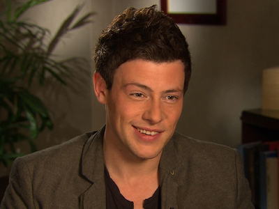 Cory's favorite scenes to shoot on Glee are with who?