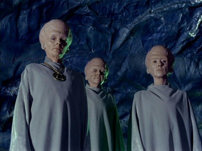 ST: TOS - Pike was overpowered and kidnapped by beings who can project powerfully realistic illusions.