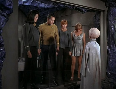 "STAR TREK: TOS - Who are the only actors to appear in both the pilot episode ""The Cage"" and the final episode ""Turnabout Intruder""?"