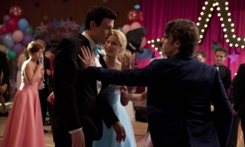 "Sue Sylvester: ""Prom is over for you, _______. You too, _______."" (2x20)"