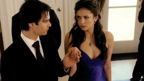 """Elena was someone to take seriously, never lightly. """"I'd take anda seriously atau lightly atau any way anda prefer,"""" Damon thought. Does Elena hear him?"""
