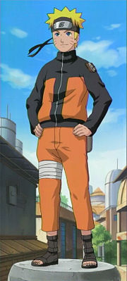 What is Naruto's self-styled title?