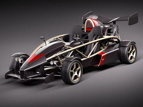 What is the 0-60 time of the Ariel Atom V8?
