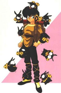 Who was the first character to know that Ryoga is P-chan?