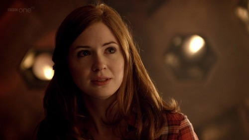 6x06: Why did she tell the Doctor she was frightened?