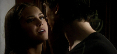 """""""For my own purposes."""" Something was building between them, something that frightened Elena with it's power.""""I don't think that's the reason at all."""" Elena referring to?"""