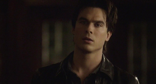 "Damon had done what? ""Hey!"" Elena reared up, and Damon--faced by an entire body of pale rose-gold and perfumed and sleek--and with muscles like steel under the silken skin"
