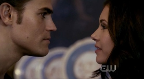 What did Stefan just say to Katherine?