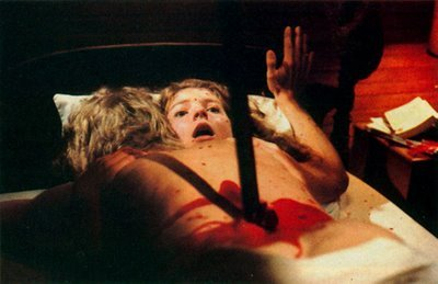 Friday the 13th Part 2: The double impalement of Sandra and Jeff was very similar to a kill in what earlier film?