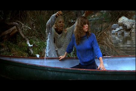 Friday the 13th Part 3: Who played Mrs. Voorhees in the dream sequence when she pulls Chris underwater?