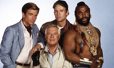 Which of the actors in The A-Team was the highest paid?