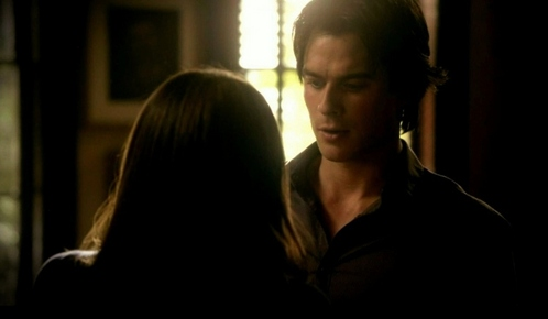 """Seriously Damon, my way, you promised.""  Where are Damon and Elena?"