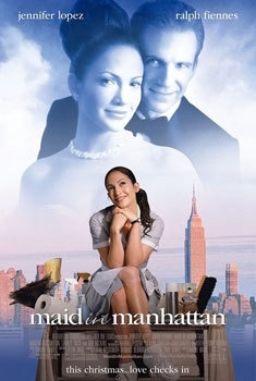 What's the name of her character in the 2002 movie, 'Maid in Manhattan'?