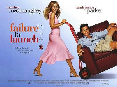 What is the name of his character in &#34;Failure To Launch&#34;?
