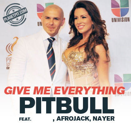"""Give me everything"" by Pitbull feat  _________ ,Afrojack, Nayer ?"