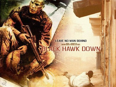 """What is the name of his character in """"Black Hawk Down""""?"""
