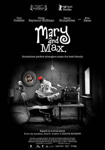 """What is the name of his character in """"Mary and Max""""?"""
