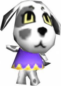 Portia is a Dog, looking at her Appearances, what breed could it be?