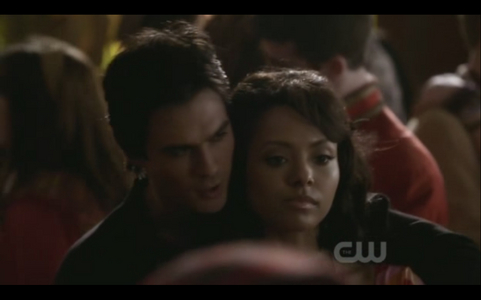 2x18 The Last Dance: What is Damon about to say here?