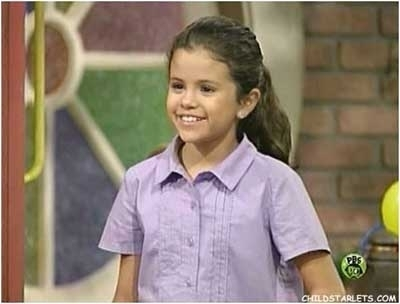 who did selena gomez wanted to be when she was small?
