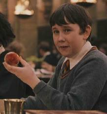 Neville went to the yule ball with:
